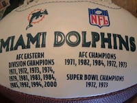 Limited Edition Miami Dolphins Football  Hollywood, 33021