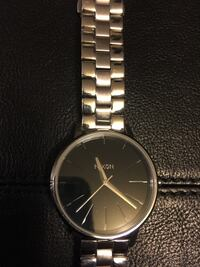 Nixon watch 50m Stainless steel Japanese movement.