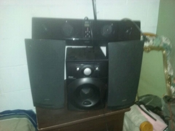Home theater system with sub woofer