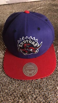 blue and red Toronto Raptors fitted cap Toronto, M4E 1R4