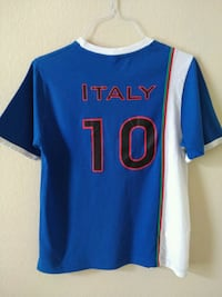 2010 World Cup soccer t-shirt team Italy Mansfield, 76063