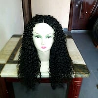 "SUPER DOUBLE DRAWN 20""Indian kinky curly Wig Fort McMurray, T9H 4K1"