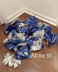 ribbons to decorate your Christmas tree