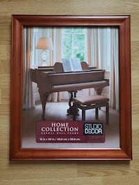 Beautiful large wood picture frame 16x20