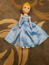 blue and white dressed doll Vienna, 22180