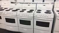 white and black electric coil range ovens Toronto, M3J 3K7