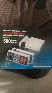 white and black NES Classic Edition box St Catharines