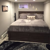 KING SIZE BEDROOM SET-DRESSER, MIRROR AND BEDFRAME WITH HEADBOARD-NEW West Babylon, 11704