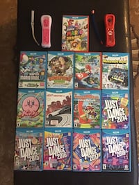 WiiU with 13 games and 2 remotes Brampton, L6R 3A2