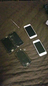 2 working but locked iphones and others for parts