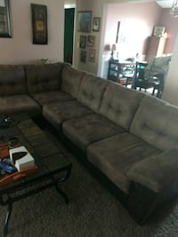 sectional sofa with ottoman chair and coffee table Phenix City, 36870