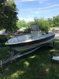 white and black speed boat Beltsville, 20705