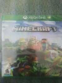 Minecraft Xbox One game Sealed