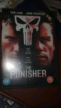 The Punisher DVD  Stovner, 0986