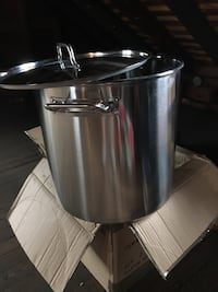 Concord Stainless Steel Stockpot.  Heavy Cookware Elizabeth, 07202