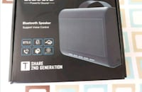 Brandnew wireless Bluetooth speaker new Mississauga, L5M 6S6