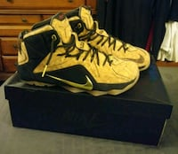 black-and-yellow Nike basketball shoes Paterson, 07504