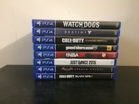 PS4 Games (8 Games) Woodbridge, 22193