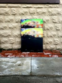 Original canvas print  Los Angeles, 90006
