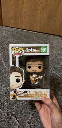 Funko Pop! Andy Dwyer from Parks and Recreation Gregory, 57533
