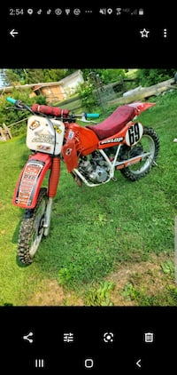 Dirt Bike/dirtbike Honda(cr125r)
