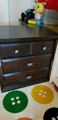 2 solid wood nightstands  Mississauga, L4Y 3M5