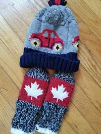 Oh Canada mittens and new toque size 0-12mths. Exc 538 km