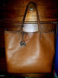 Cognac Michael Kor's Tote Bag w/ makeup bag Derby, 06418