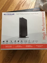 Netgear N600 wireless dual band gigabit router Burke, 22015