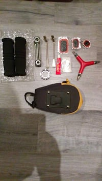 red and black quadcopter with remote Mississauga