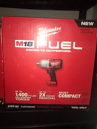 M18 FUEL 18-Volt Lithium-Ion Brushless Cordless 1/2 in. Impact Wrench with Friction Ring (Tool-Only) Los Angeles, 91405