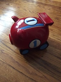 Kids piggy bank(race car). Fun for all ages