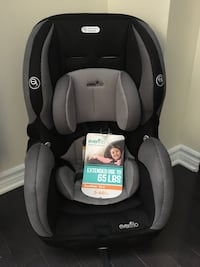 baby's black and gray Evenflo car seat Ottawa, K1T 0H2
