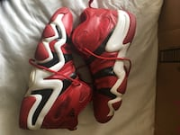 White-red-black Adidas crazy 8 basket ball shoes. Montgomery Village, 20886