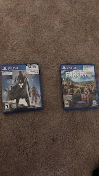 Two sony ps4 game cases Cornwall, 17042