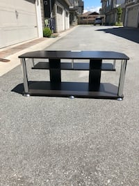 Black wooden tv stand with mount Richmond, V7A 1G8