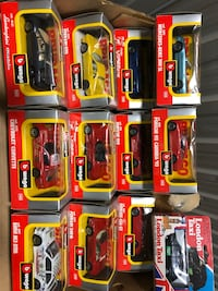Cars brand new collectables  each 6.00 each there are 12 Dollard-des-Ormeaux