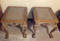 Pair of Two Vintage Hammary End Tables   CALGARY