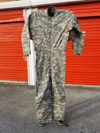 Insulated ACU Coverall Male 38 long, military