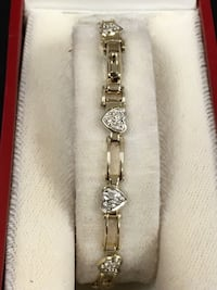 Diamond heart bracelet  Riverview, 48193