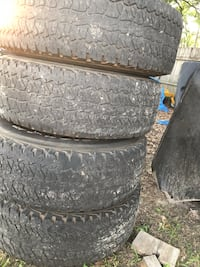 gray vehicle wheel and tire set Leesburg, 31763