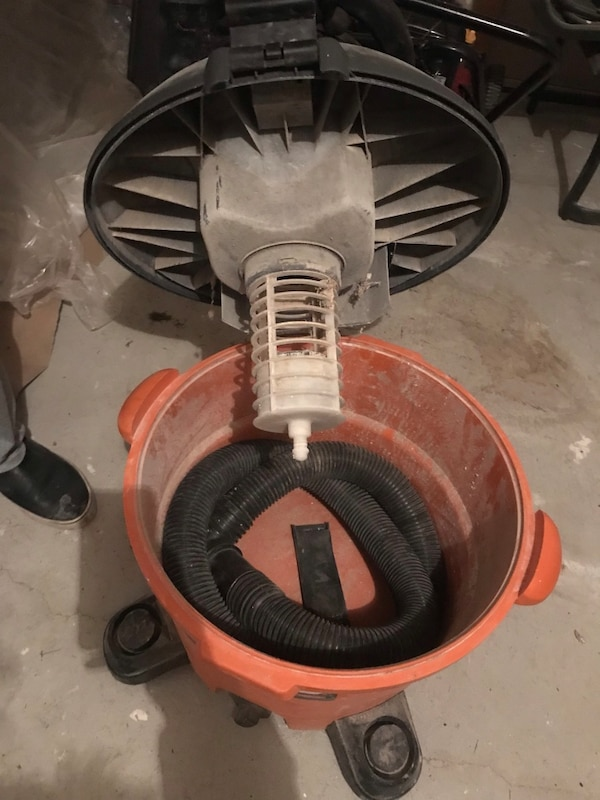 Construction vacuum works perfectly