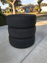 Lot of 3 used tires- good condition 235/60R17 $30 OBO Alhambra, 91803