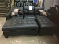 Brand New Bonded Leather Sectional Sofa +Ottoman  Silver Spring, 20902