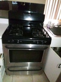 black and gray gas range oven Coram, 11727