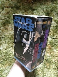 First VCR release Star Wars trilogy Des Moines, 50316