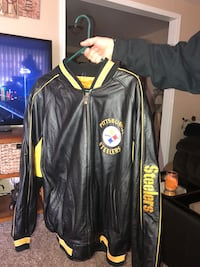 Leather steeler jacket 2x excellent condition
