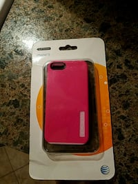 iPhone 5 pink case and gray gels new in box Toms River, 08753