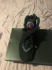pair of black Air Jordan basketball shoes Rockville, 20853
