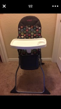 baby's black and white high chair Orlando